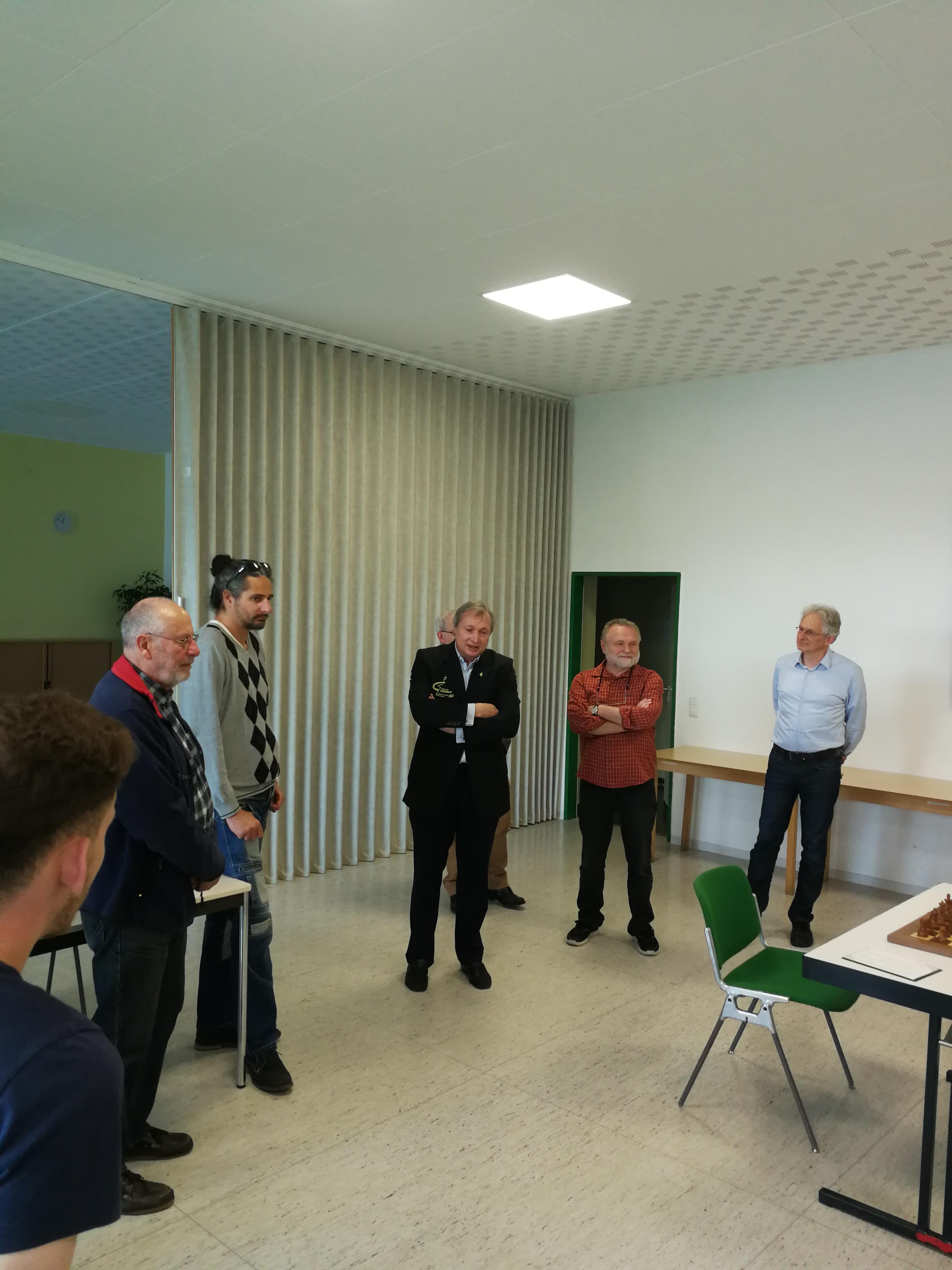 Grußwort DSB-Vizepräsident Klaus Deventer