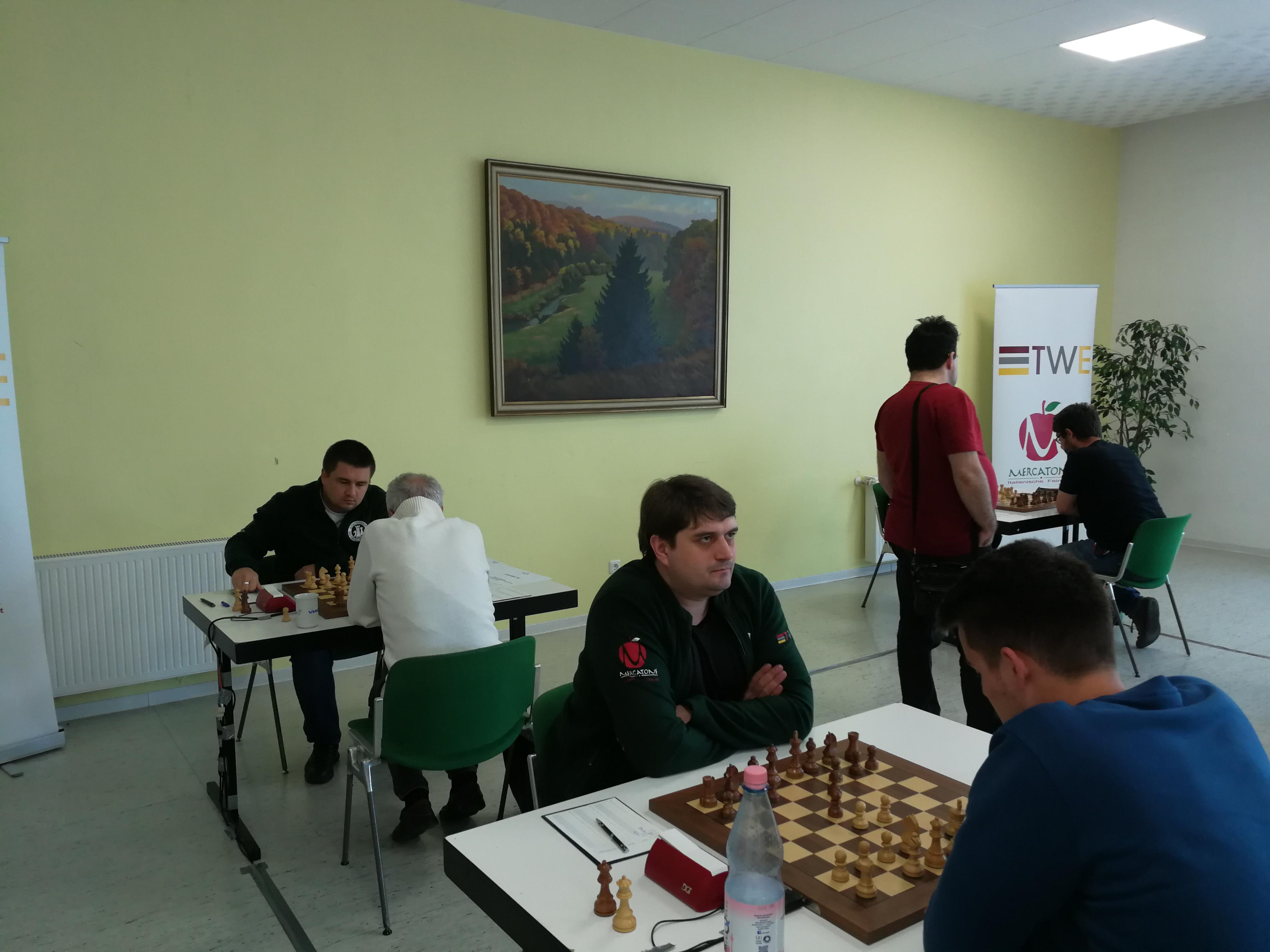 Halbfinale: GM Ponkratov-IM Lagunow