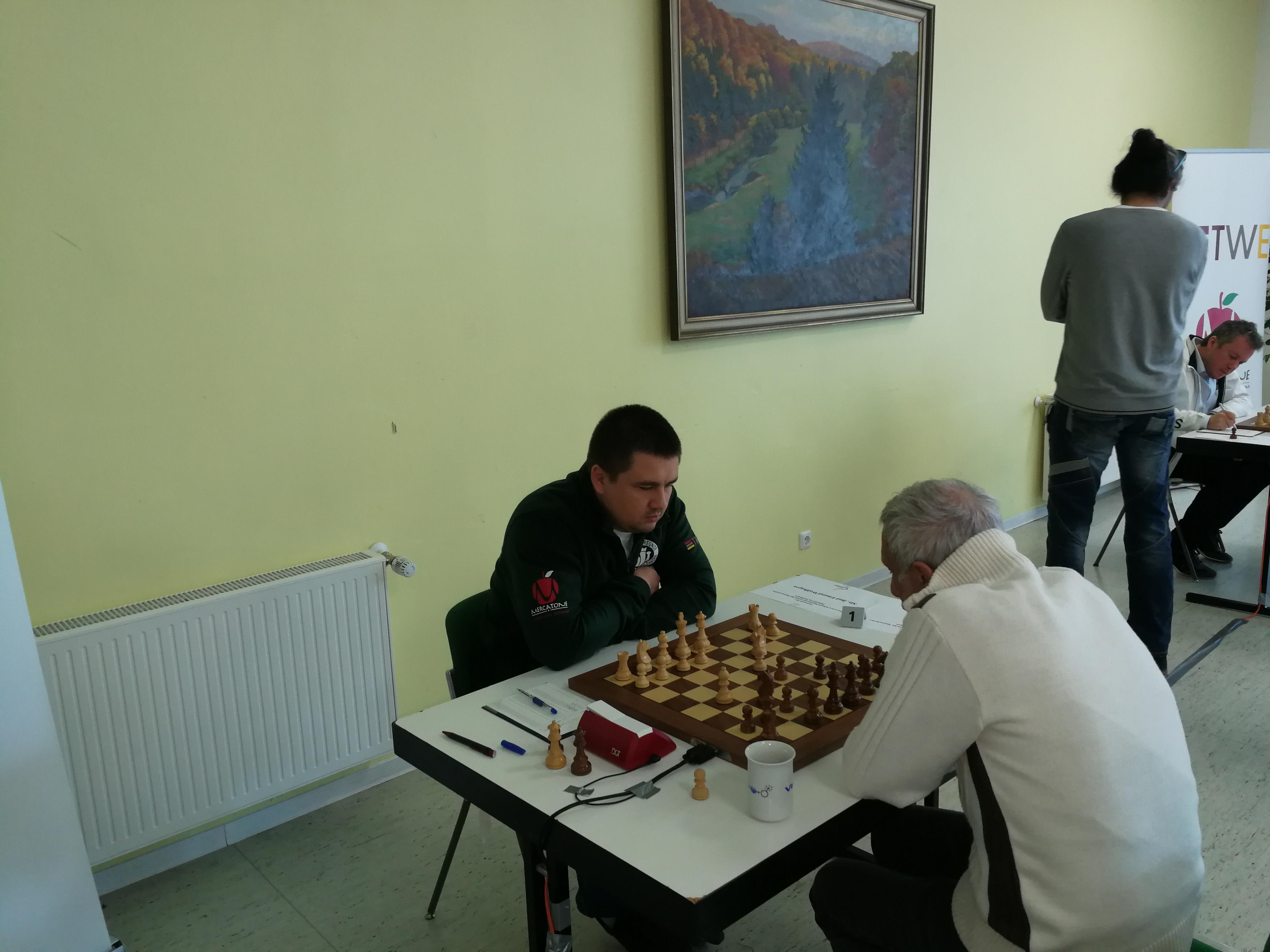Halbfinale: GM Kuzubov-GM Meister