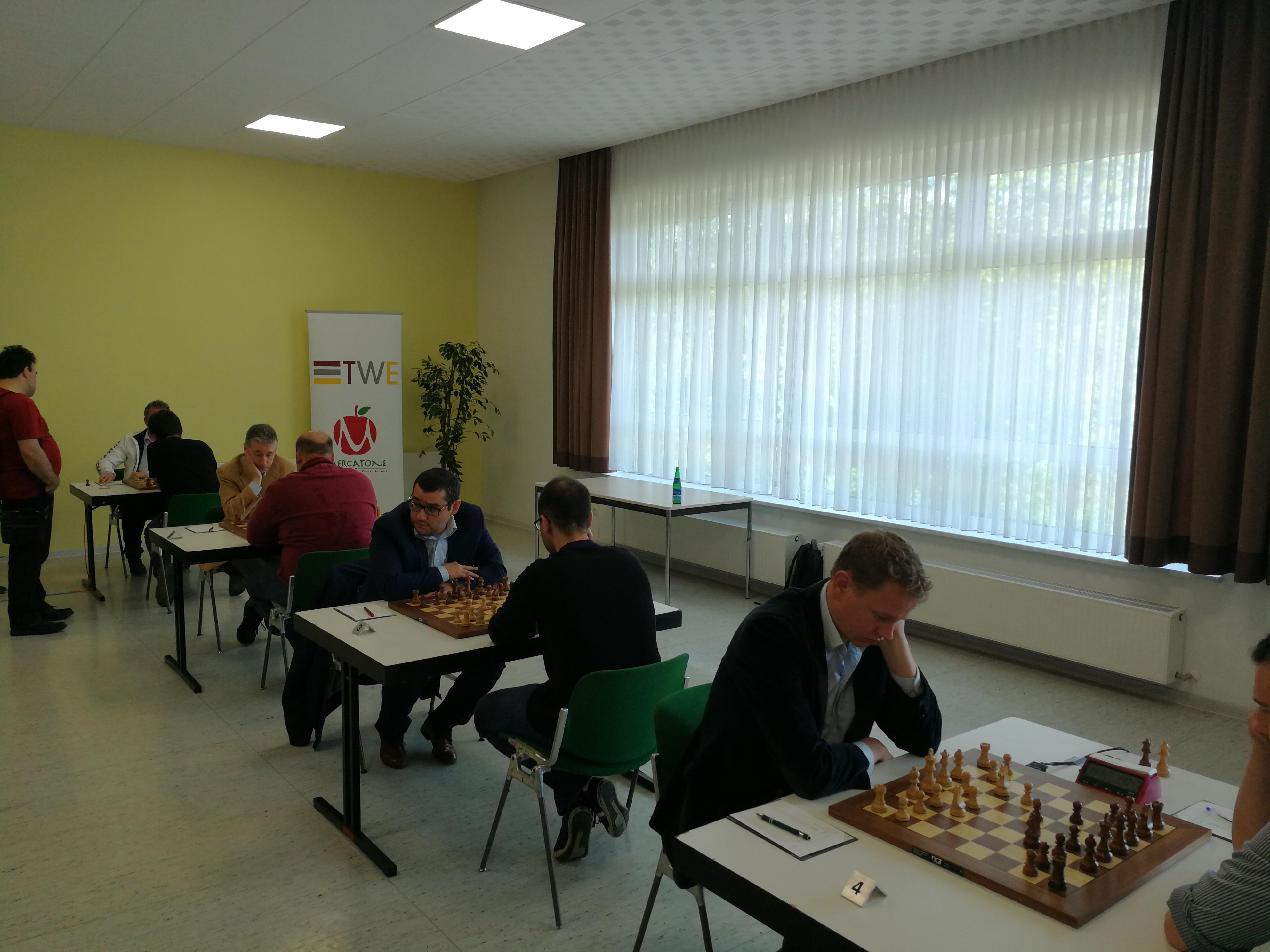 Halbfinale Baden Baden-Greifswald