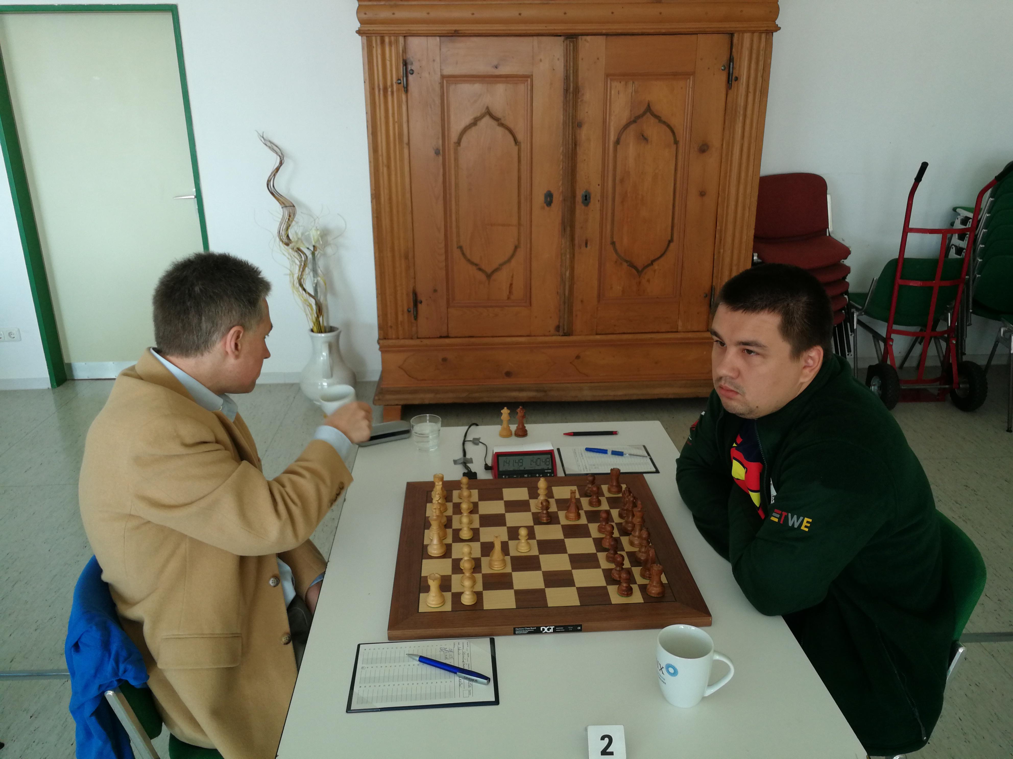Finale: GM Adams-GM Kuzubov
