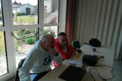 Die Techniker von chess24 bei der Arbeit: Olli Köller und Felix Kleinschmidt